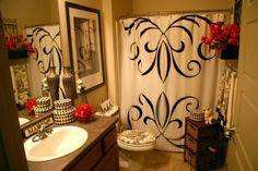 Tuscan bathroom decor (21)