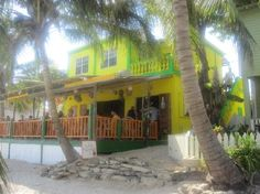 Wild Mango's, San Pedro, Ambergris Caye, Belize. Ate there last night .. Food was great !
