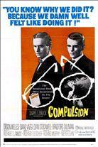 Compulsion (1959). Starring: Orson Welles, Dean Stockwell, Bradford Dillman