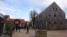 Hof 8, die Ortsmitte erblüht Places, Germany, Travel