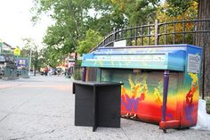 2015 Sing for Hope Piano placed in Montefiore Park