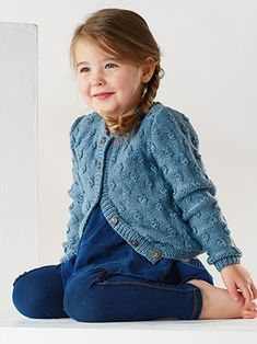 MARCIE from Little Rowan Kids (ZB195) - 9 Designs for Children aged 2-7 years using Baby Merino Silk DK. Designed by Lisa Richardson & Sarah Hatton | English Yarns