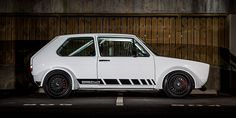 Mid-Engined VW MK1 Rabbit with Audi S4 V8