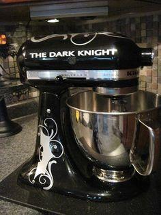 batman kitchen aid  mixer | Batman vinyl embellishment for kitchenaid! | Kitchen
