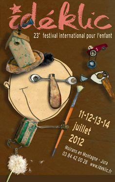 L'affiche 2012, conçue par Christian Voltz DR Kids Collage, Alsace France, Culture Art, Poster Ads, Illustration, Art For Kids, Christmas Ornaments, Toys, Holiday Decor