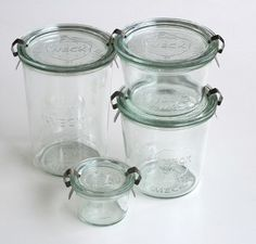 Weck canning jars.  DEFINITELY getting some of these before canning starts this year.