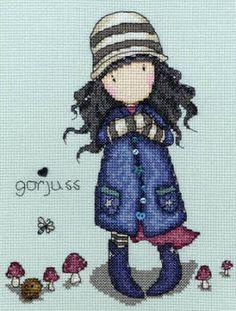 Toadstools - Gorjuss Cross Stitch