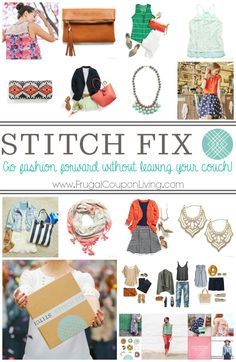 How to Stitch Fix – Become Fashion Forward From Your Couch!  A Personal Stylist Handpicks Five Clothing Items Just For you, Fill Out a Simple Style Profile & Schedule Your First Fix Today on Frugal Coupon Living.