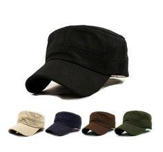 3b181d4b68e 2015 new 1PC Classic Women Men Snapback Caps Vintage Army Hat Cadet  Military Patrol Cap Adjustable