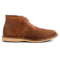 Weekender Chukkas by Red Wing Heritage:  These are extremely beautiful. Oil-tanned, stitched-down, and in a classic silhouette.