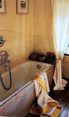 vasca in legno