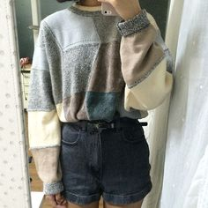 The 6 Sweaters You Need for Sweater Weather Look Fashion, 90s Fashion, Korean Fashion, Winter Fashion, Vintage Fashion, Fashion Styles, Grunge Fashion, Japan Fashion, Petite Fashion