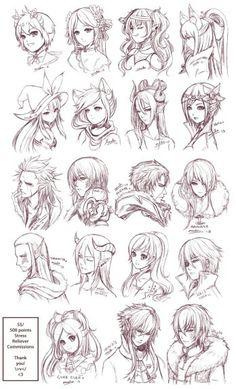 Fantasy Manga People 1