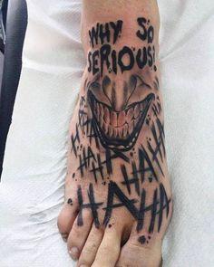 Leg tattoo designs - Badass leg tattoos for men and women . - Leg tattoo designs – Badass leg tattoos for men and women – Tattoos – # - Tattoos Bein, Creepy Tattoos, Dope Tattoos, Leg Tattoos, Body Art Tattoos, Small Tattoos, Sleeve Tattoos, Clown Tattoo, Batman Tattoo Sleeve