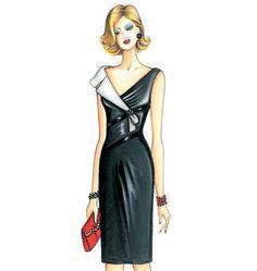 F3425, Marfy Dress