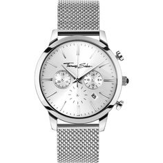bdd5948c3c20e0 Buy Thomas Sabo by Gent's Eternal Rebel Stainless Steel Chronograph Watch  from our Watches range - Silver, Rebel at Heart, Bracelet, Silver, ...