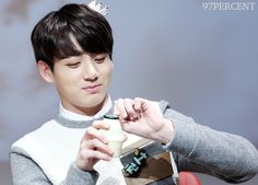 """© 97PERCENT | Do not edit."" Jungkook Eating, Bts Jungkook, Bts Photo, Foto Bts, U Make Me Happy, Bts Qoutes, Kid Drinks, Banana Milk, Make Photo"
