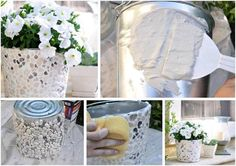 garden pottery so great wow !! easy and good looking