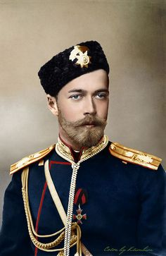 "Nicholas II of Russia. This is the tsar the Leninist ""executed"" - meaning they murdered him and his family by taking them in a cave and shooting them."