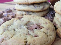 leckere Amerikanische Chocolate Chip Cookies