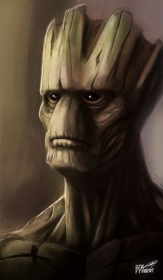 I Am Groot by BDBonzon on DeviantArt