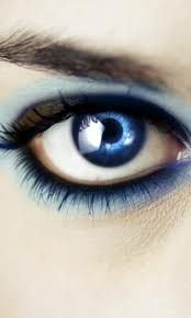 Charming blue eyes