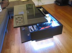 My Ramvik Arcade Table with Lift and Lock table top
