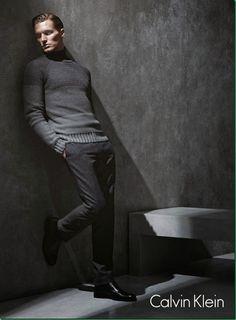 ♂ fashionable men gentleman style Shaun DeWet for Calvin Klein White Label F/W 2013