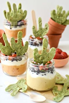 What better way to say thank you to this snacking staple on it's national holiday than with your very own Cactus Hummus Dip?