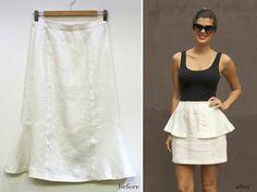 old skirt makeover
