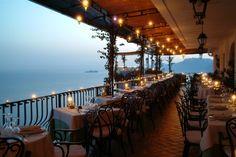 La terrazza del ristorante - Outdoor dining room  www.tritone.it www.lacaladellelampare.it Il ristorante del Tritone