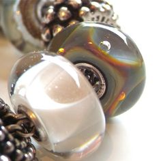 Deep Bubbles... one of Trollbeads most fascinating glass beads
