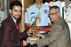 Virat Kohli Receives Arjuna Award