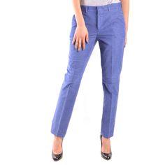Blue Trousers, Trousers Women, Buy Now, Mom Jeans, Capri Pants, Pajama Pants, Style Fashion, Cotton, Fall Winter