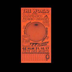 The World → Félicité Landrivon . . . . . . . . . .  #typography #graphicdesign #poster #print #printisntdead #typematters #serif #sanserif #typeinspire #danktype #dailytype #typedaily #typism #betype #goodtype #strengthinletters #words #quote #inspiration #ilovetypography #art #instadesign #creative
