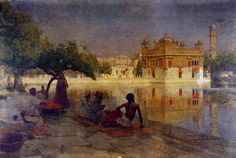 The Golden Temple, Amritsar, 1890 - Edwin Lord Weeks
