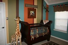 Life as a Frazier: On Safari...Nursery Debut