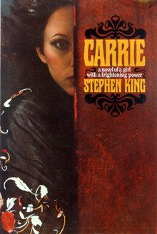 Carrie - Stephen King Saw the Sissy Spacek version many times and finally read the book. Definitely different, the book gives you a whole other perspective. I really enjoyed reading this book, very well written for being on of his first books. Stephen King It, Stephen King Novels, Steven King, Horror Fiction, Horror Books, Horror Films, Horror Stories, Carry On Book, Writers