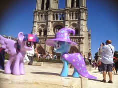 Equestria Daily: Ponies Around the World 2014 - Twilight and Trixie at Notre Dame