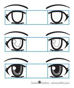 draw anime eyes
