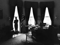 size: Photographic Print: President John F. Kennedy and Attorney Gen. Robert F. Kennedy in the Oval Office at the White House by Art Rickerby : Entertainment Rose Kennedy, John F Kennedy, Presidential Libraries, Classic Portraits, Oval Office, Attorney General, Life Magazine, Jfk, Illusions