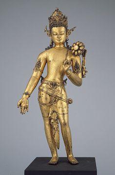 Bodhisattva Padmapani [Nepal] (1982.220.2) | Heilbrunn Timeline of Art History | The Metropolitan Museum of Art