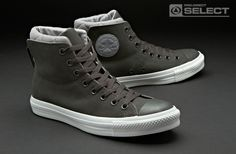Chuck Taylor dual collar high Converse Style, Converse Shoes, Gq Fashion, Fashion Shoes, Crazy Shoes, Me Too Shoes, Shoe City, Sneaker Heels, Best Sneakers
