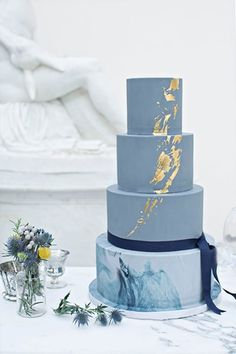 24 Marble Wedding Cake That Are Works Of Art | You & Your Wedding