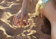 Hey Kids and Adults, Play with Sand to Reduce Anxiety | Both kids and adults can play with sand to reduce anxiety. Read on to learn why sand play works and how kids and adults can play with sand to reduce anxiety. www.HealthyPlace.com