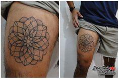 Tatuaje realizado por Leon Rojo tattoo studio