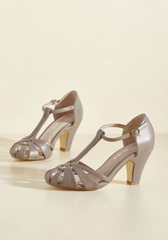 996d3b07c78 There Chic Goes T-Strap Heel