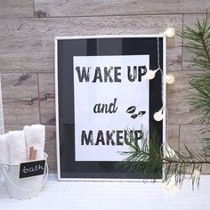 Wake up and makeup💄💋 But first coffee ☕  #bathroom #bathroomdecor #interiordesign #interior #interiores #interior123 #interiorstyling #bathroomstyling #makeup #home #homedecor #homesweethome #homedesign #poster #scandinavian #nordic #nordicdesign #łazienka #wnętrza #blogwnetrzarski #igdaily #instagood #insta #onlyinterior #inspiration #goodmorning