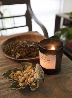 自然な芳香が楽しめる「サンタ・マリア・ノヴェッラ」のポプリが香る。