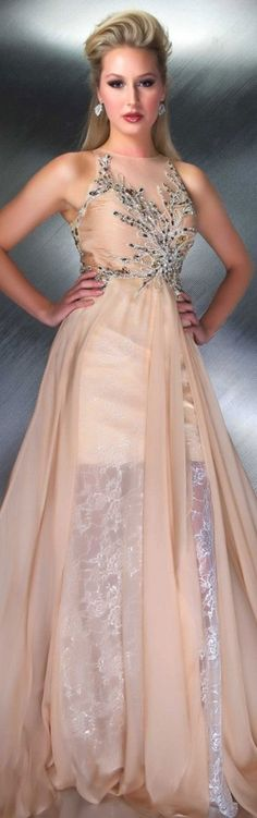 Mac Duggal couture 2013/2014 ~  ✮✮ Please feel free to repin ♥ღ www.fashionandclothingblog.com